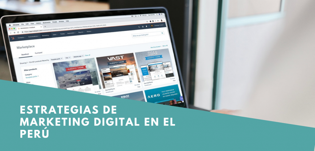 Estrategias de Marketing Digital en el Perú